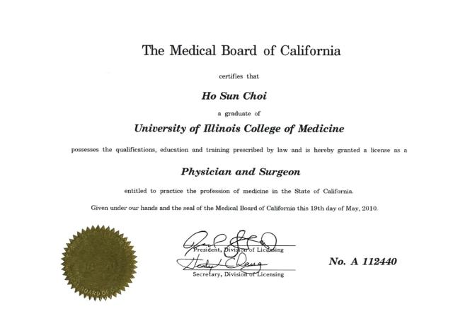 medical license – solo building blogs